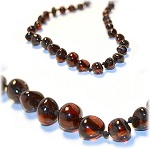 art of cure baltic amber teething necklace image