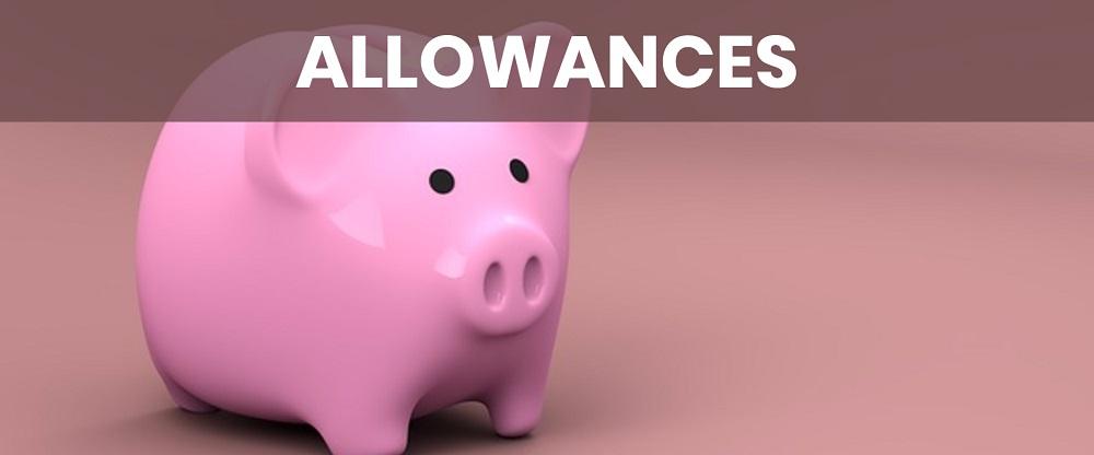 giving kids an allowance image
