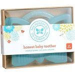 honest co butterfly baby teether image
