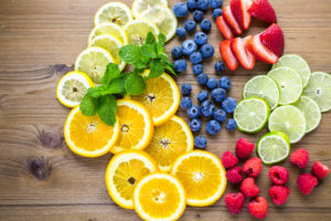 ingredients for infused water recipes image