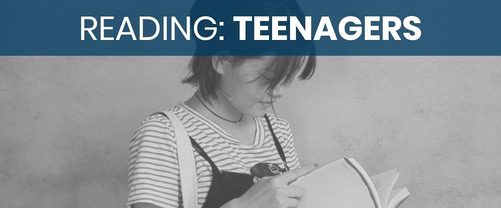 teaching teenagers to love reading image