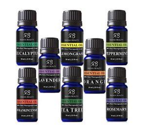 top 8 essential oils image